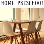A Home Preschool Schedule with the Child at Heart