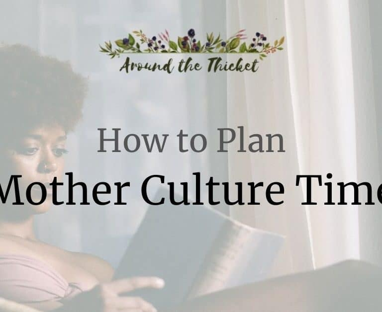 How to Plan your Mother Culture Time