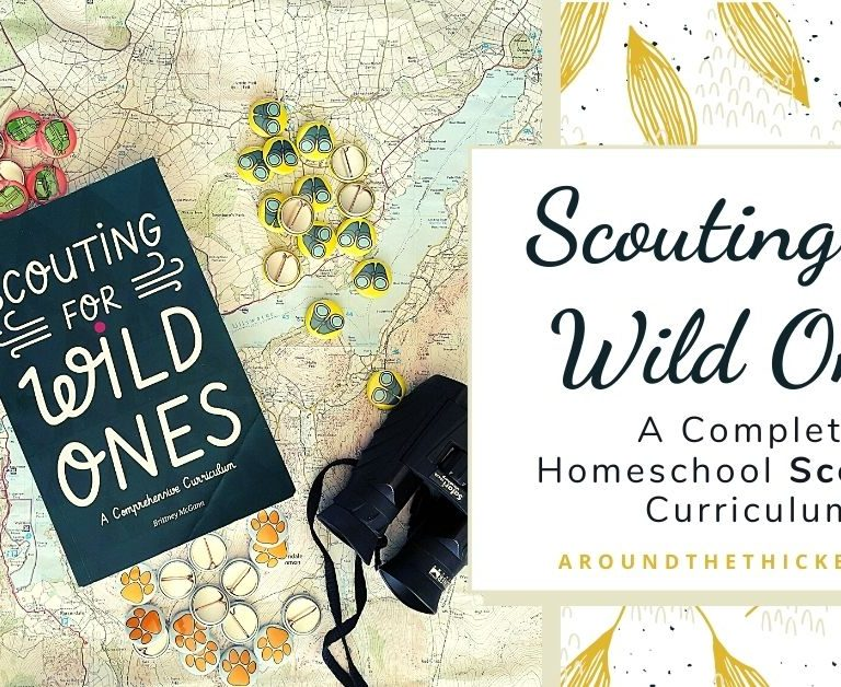 Scouting for Wild Ones: A Review of a Homeschool Scouting Curriculum
