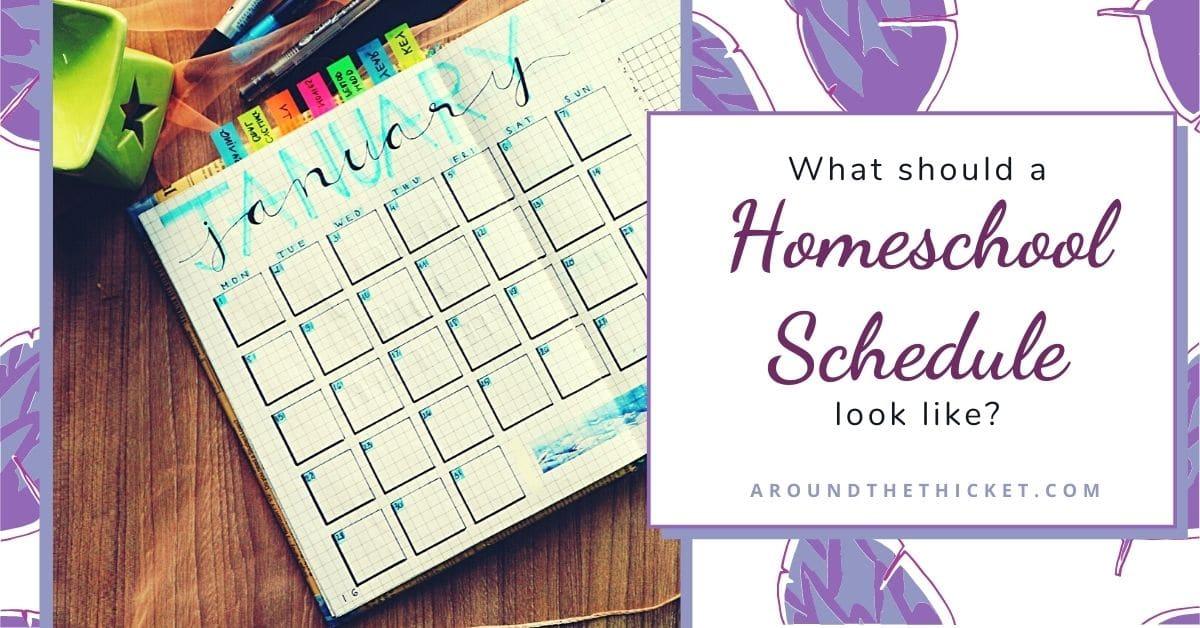 Homeschool schedule ideas (1)