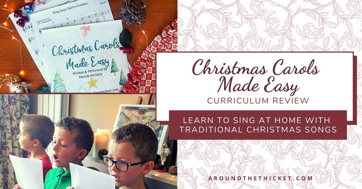 homeschool Christmas singing Curriculum